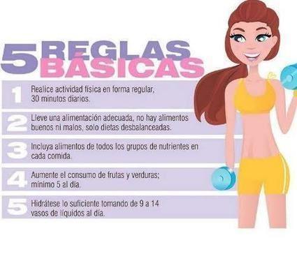 tips para perder peso rápidamente