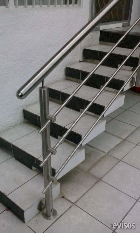 Barandales de acero inoxidable estilo steel acero - Barandales para escaleras ...