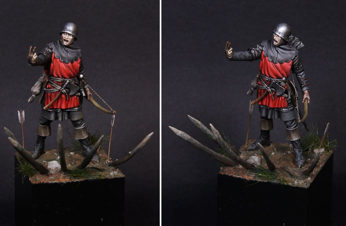 English Archer, Poitiers 1356 by fonsy · Putty&Paint
