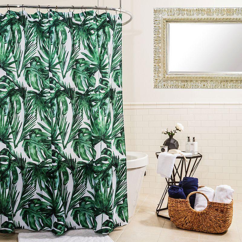 Splash Home Palm Balsa Shower Curtain Curtains Unique Curtains