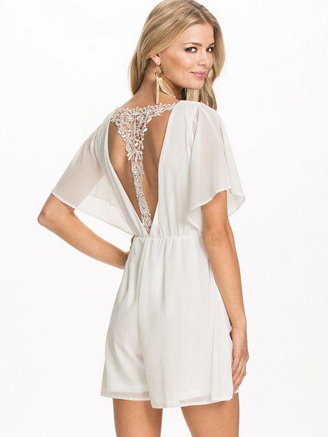 nelly hvid kjole
