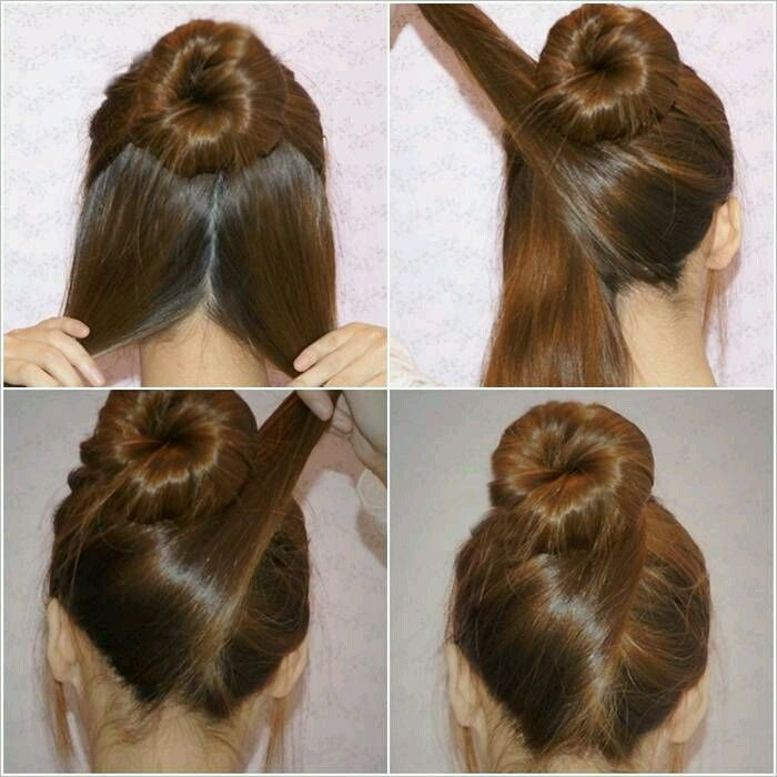 5 Minute Criss Cross Bun Updo A Quick Professional Hairstyle