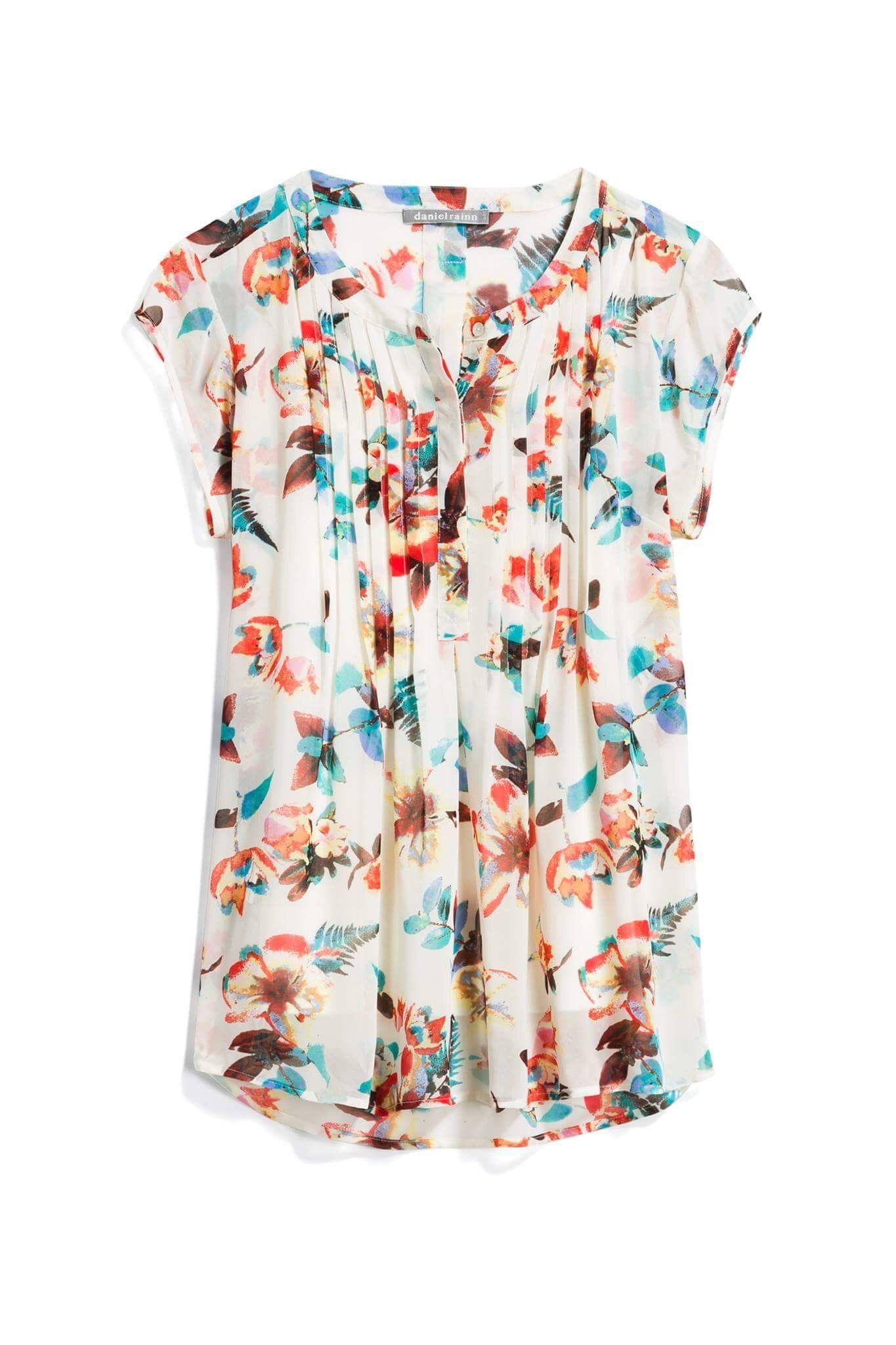 Daniel rainn multicolor floral blouse stitch fix style quiz
