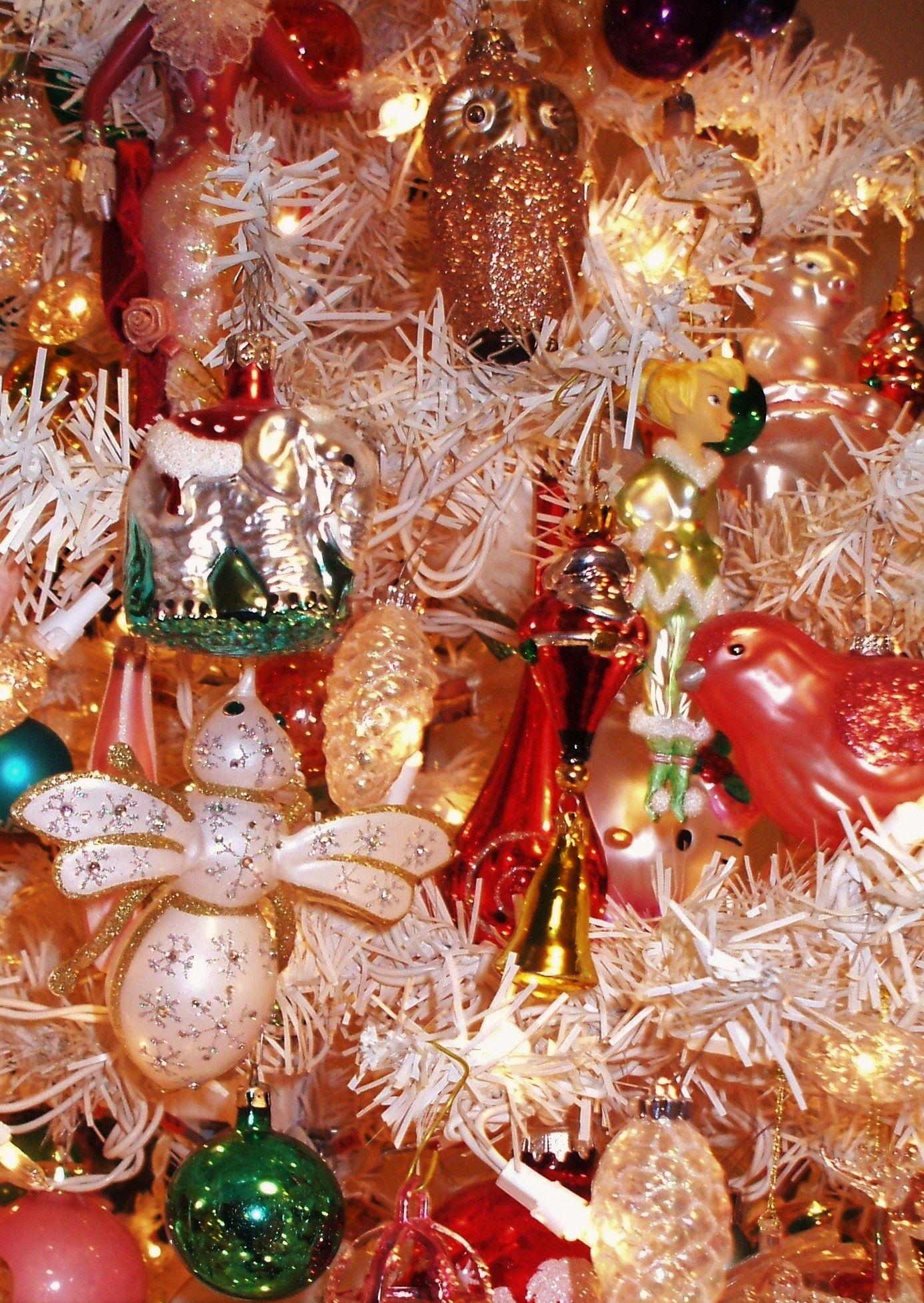 Christmas Tree - Glass Ornaments