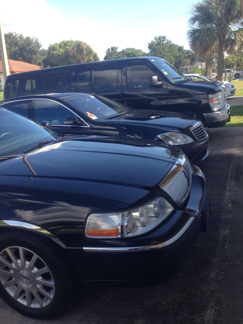 Orlando Limo Town car service, Luxury van