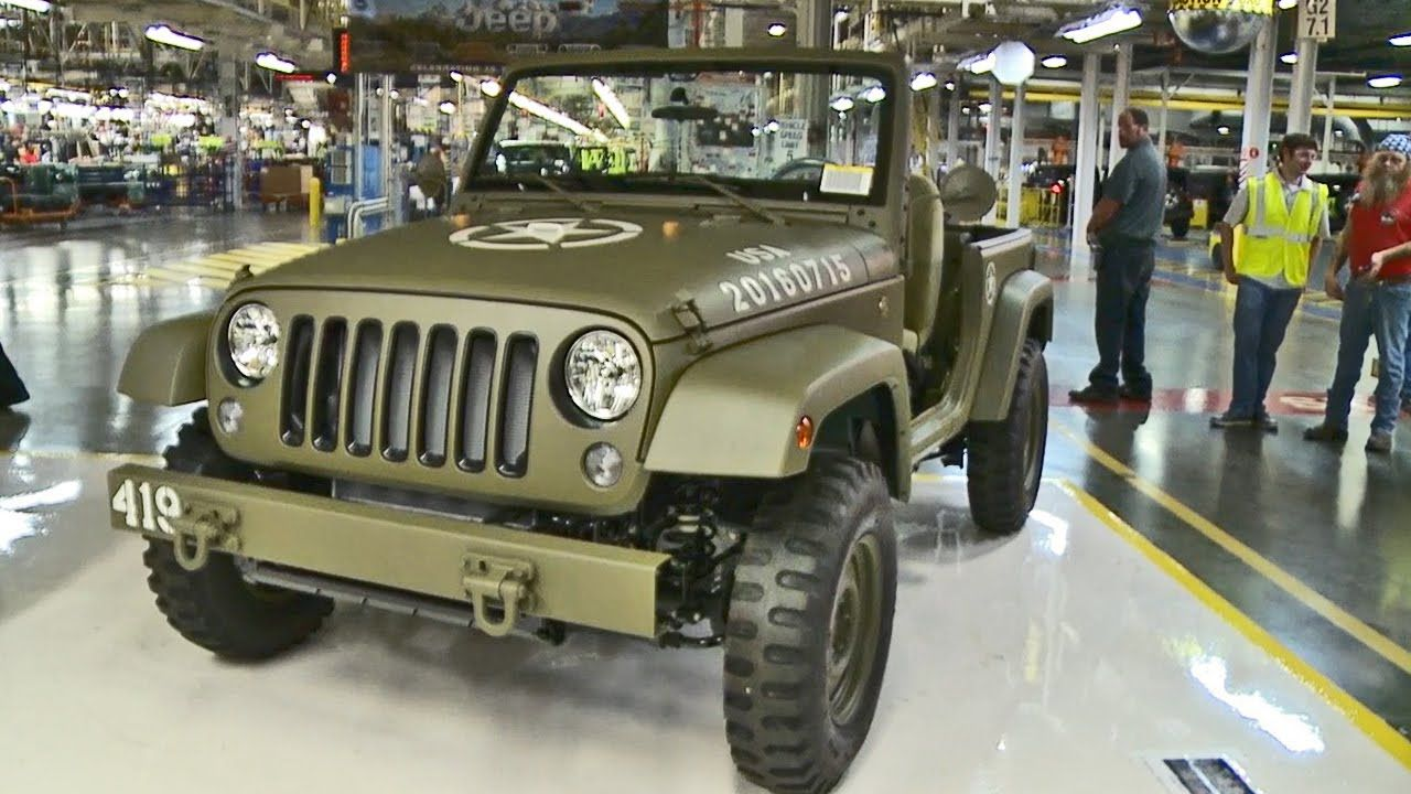 Jeep Celebrates 75 Years With This Willys Mb Inspired Concept
