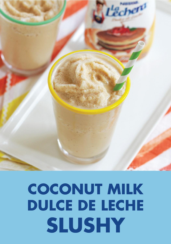 Photo of Coconut Milk Dulce de Leche Slushy
