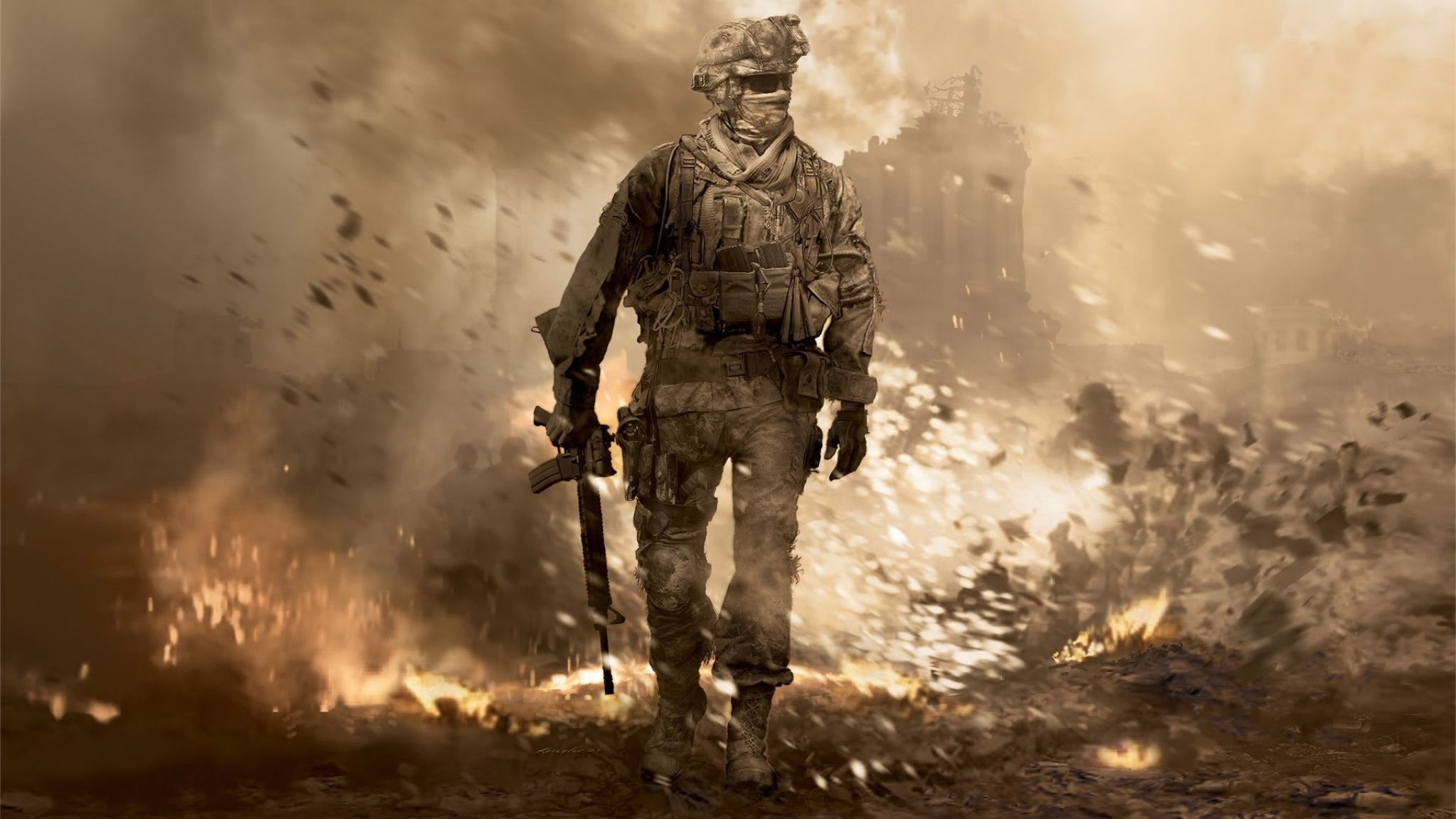Hd Call Of Duty Wallpapers Hd Desktop Backgrounds 2048x1152 Modern Warfare Call Of Duty Infinite Call Of Duty