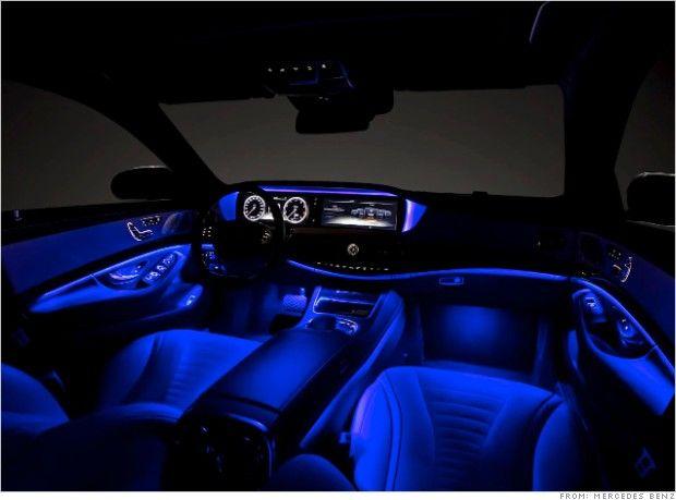 Mercedes S Class Coupe Interior Mercedes Interior Car Lights