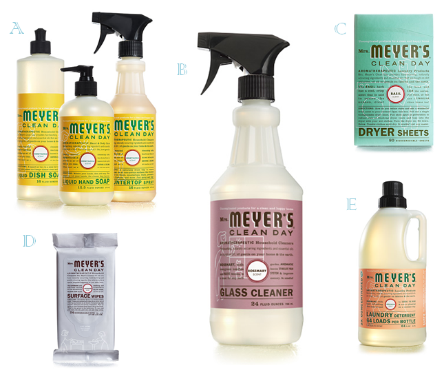 Mrs Meyers Products Cleaning Day Cleaning Best Cleaning Products