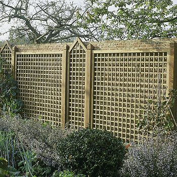 panneau treillis bois | palissades 78 woodexpo | Pinterest ...