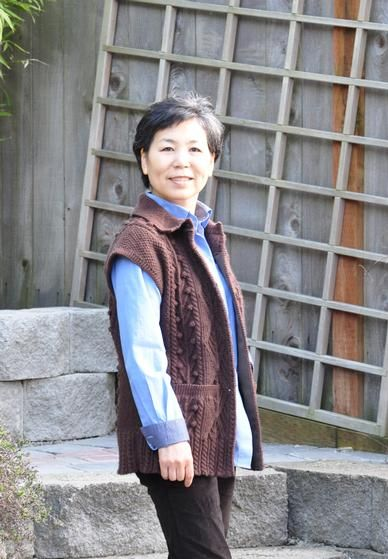 Cabled Vest with Twisted Stitches  - Knitting Patterns and Crochet Patterns from KnitPicks.com