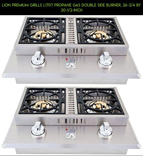 Lion Premium Grills L1707 Propane Gas Double Side Burner 26 3 4 By