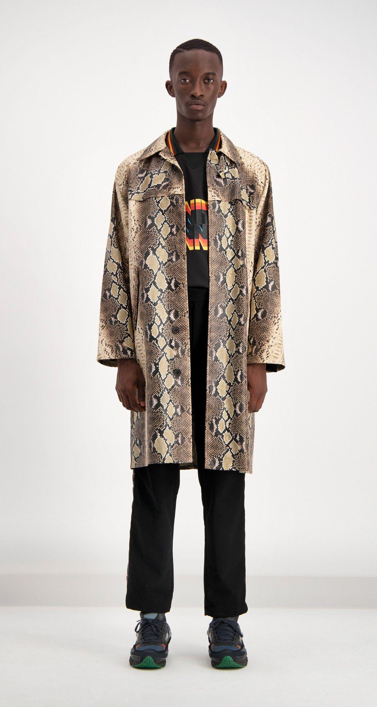 042734fe3 Snake Skin Dain Jacket | Snakeskin Shirts for Men | Snake skin ...