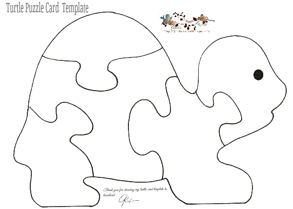 Free Puzzle Card Templates…