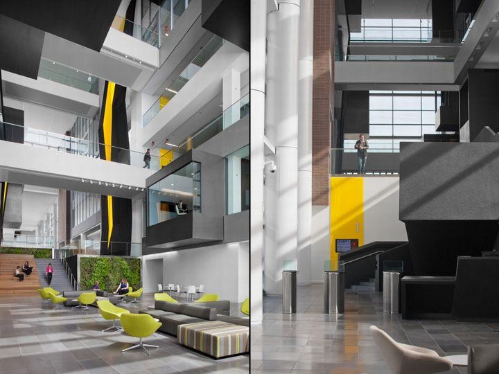 goodyears global headquarters by vocon gensler akron ohio - Interior Design Akron Ohio