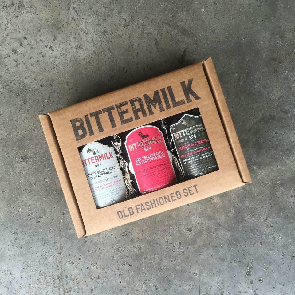 This Bittermilk old fashioned cocktail gift box Just add