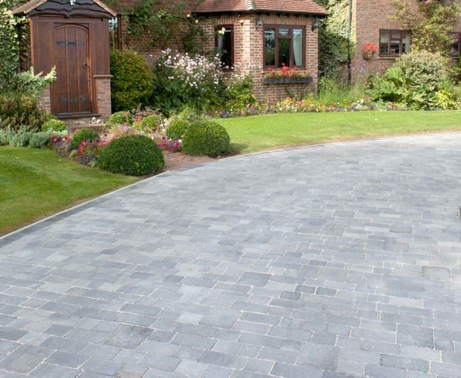 Block paving brick colours