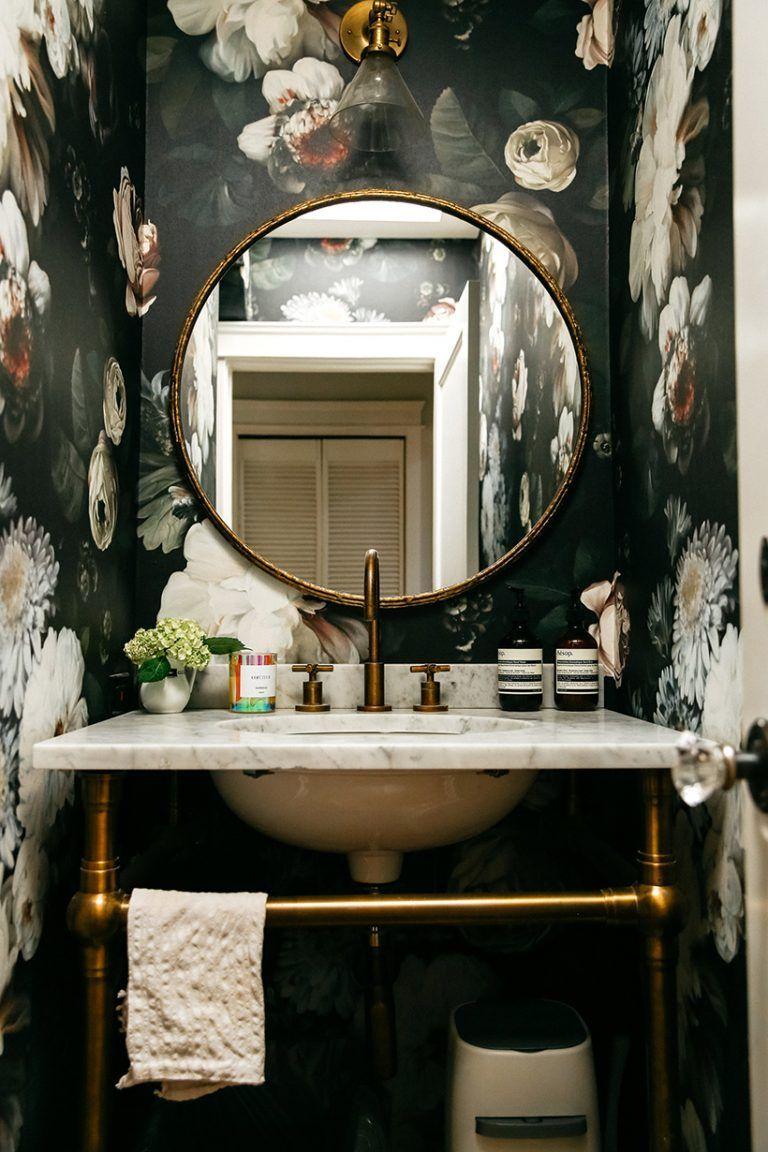 Photo of Genau das richtige für Emily Schumans glamourösen Stil im Gästebadezimmer – bathroom