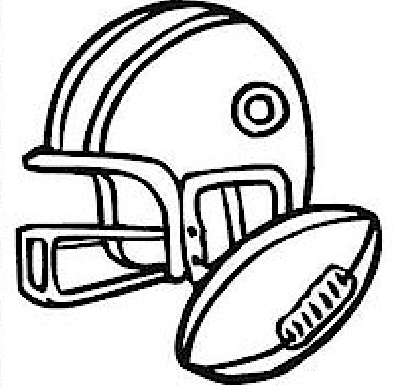 Sports Coloring Pages | Crafting - For Kids | Pinterest | Super bowl ...