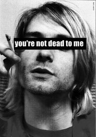 kurt's never dead to me