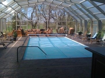 Retractable Pool Enclosure Modern Swimming Pools And Spas Edmonton Covers In Play Indoor Outdoor Pool Pool Enclosures Affordable Swimming Pools