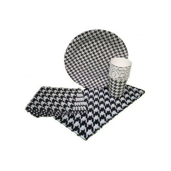 Houndstooth Party Kit for 10