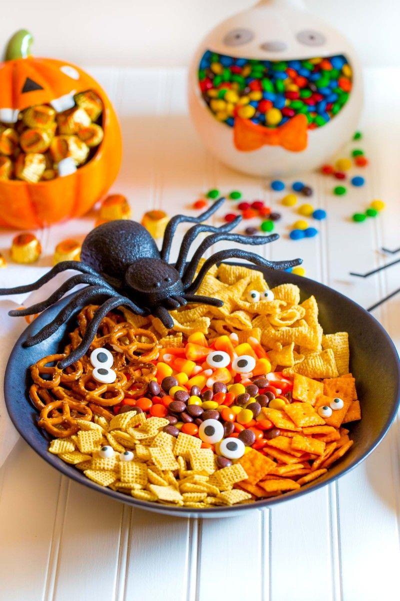 Spooky Halloween Snack Mix Recipe Halloween snack mix