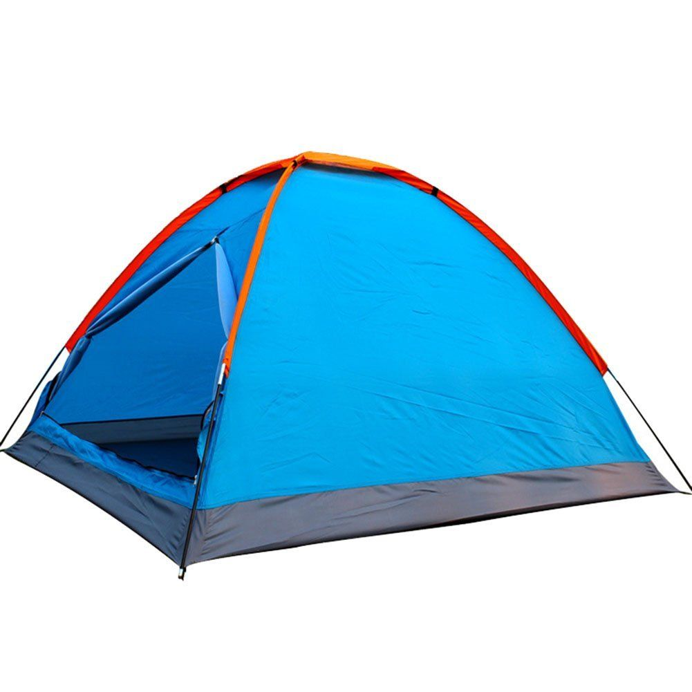 Generic Large Space Family Camping 3 Person Tent Blue *** Awesome ...
