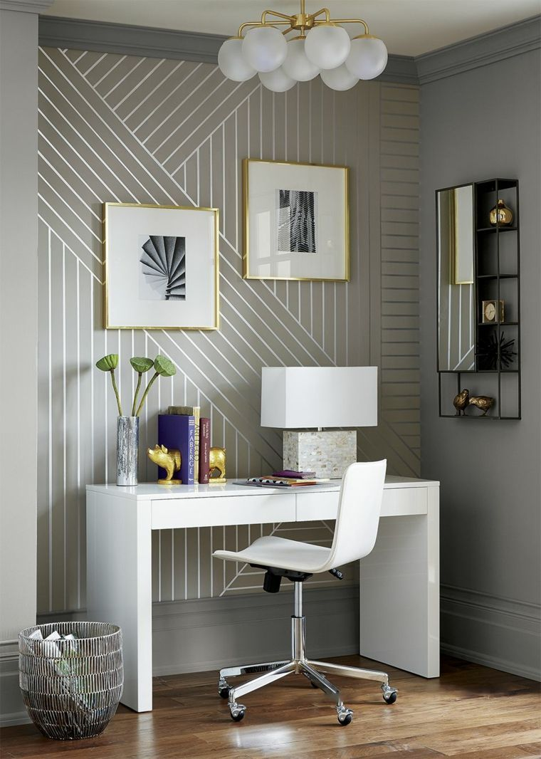 35 Awesome Accent Wall Ideas To Upgrade Your Space White Lacquer