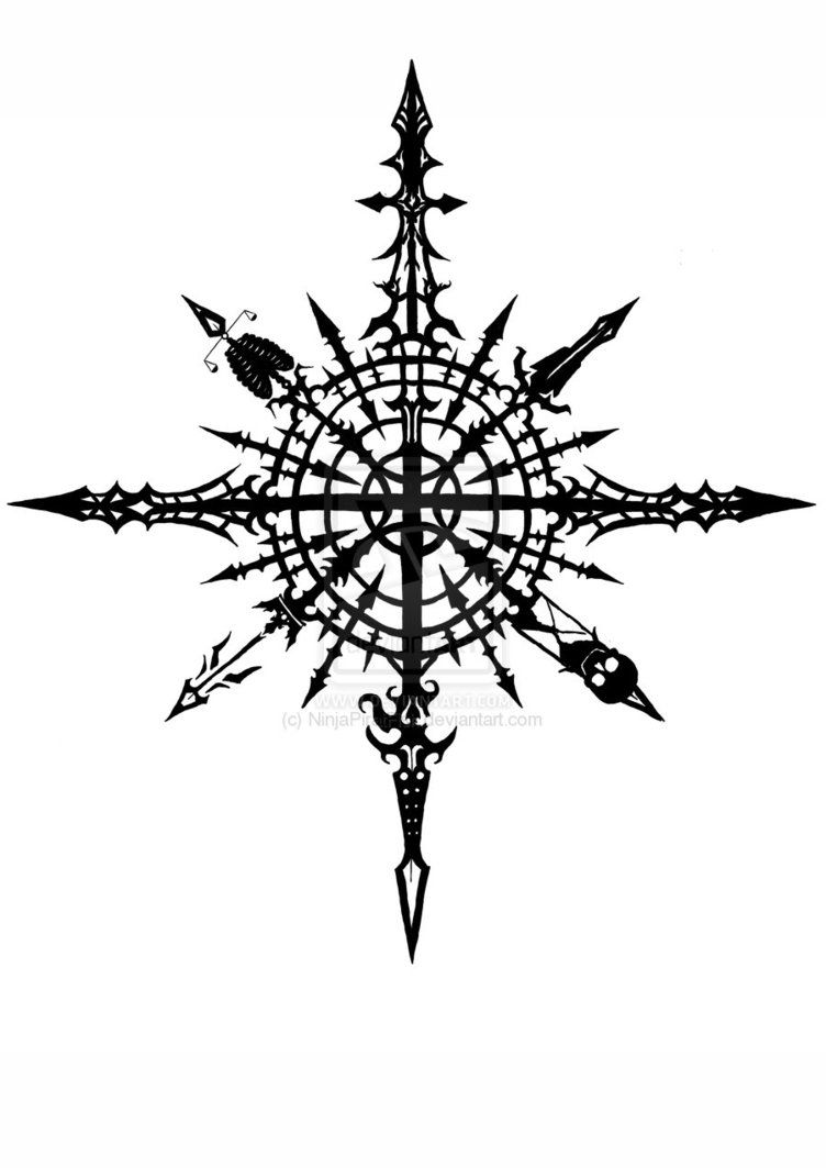 chaos is big part of my life tattoo ideas pinterest big tattoo and compass. Black Bedroom Furniture Sets. Home Design Ideas