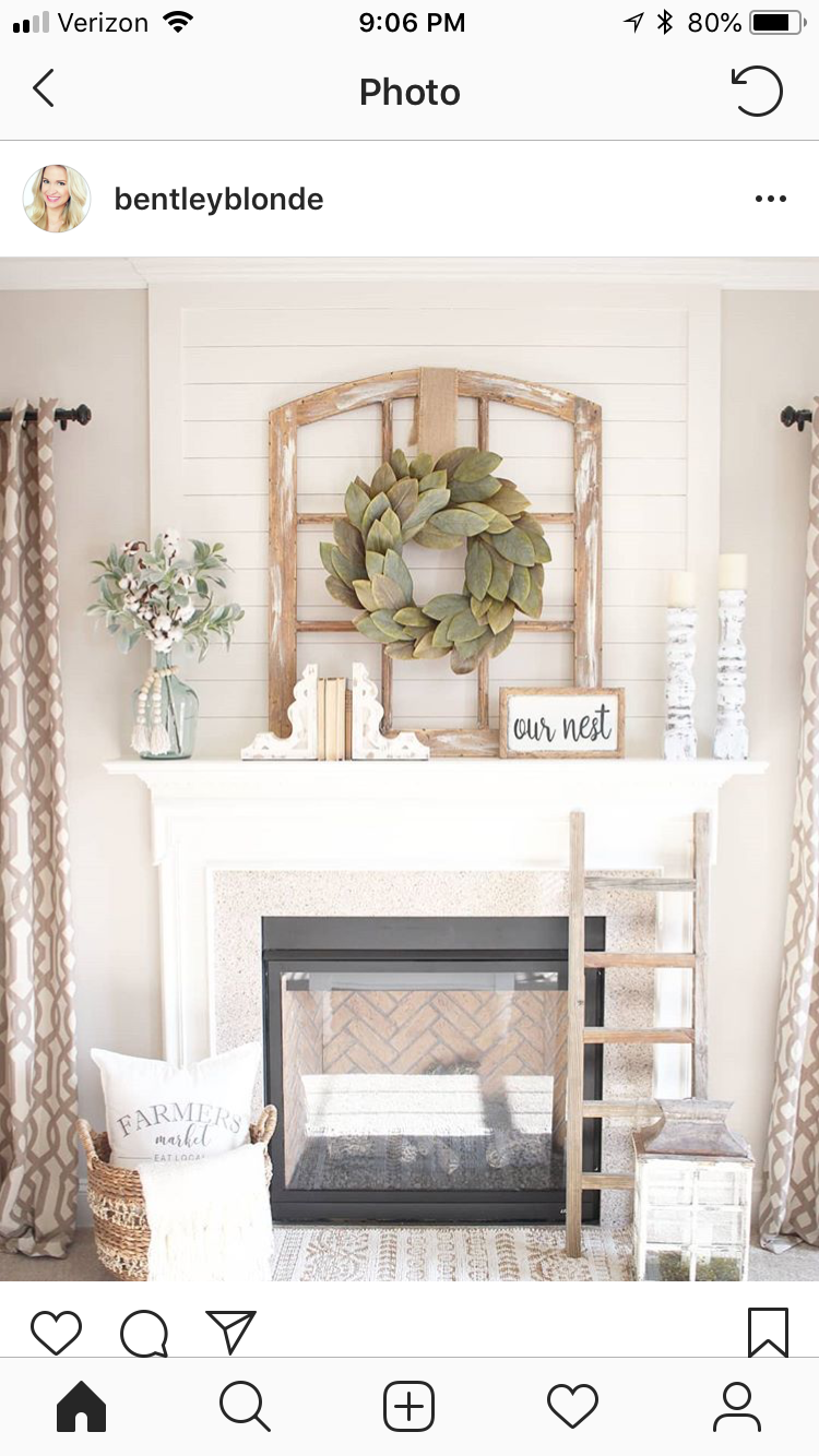 Mantel Living RoomFarmhouse By On Pin Mirka Powell vYbf76gy