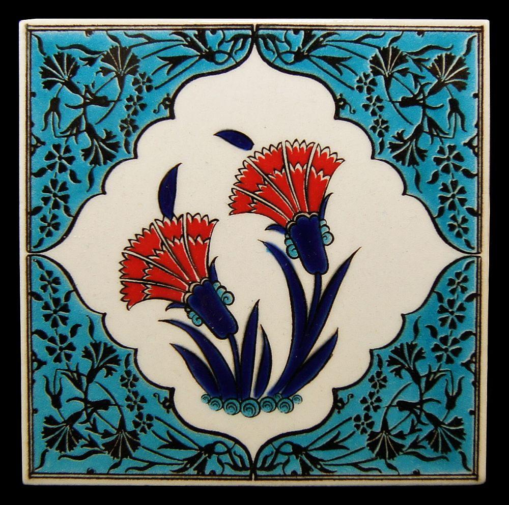 Turkish tile decopage pinterest mosaik jugend und - Mosaik fliesen turkis ...