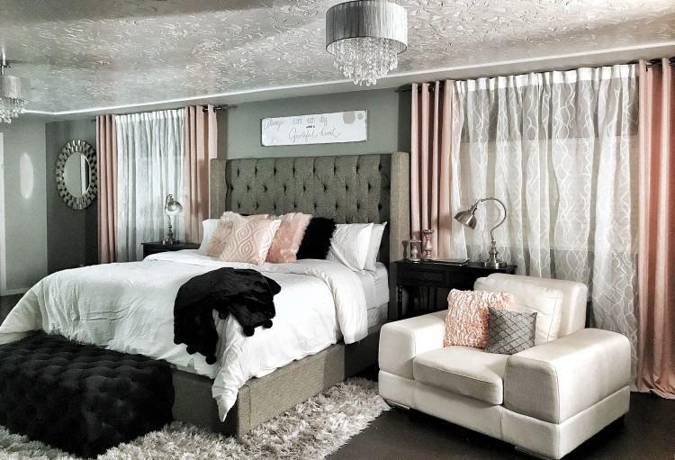 Bedroom Furnishings Ideas Purple And Champaign | Bedroom ...