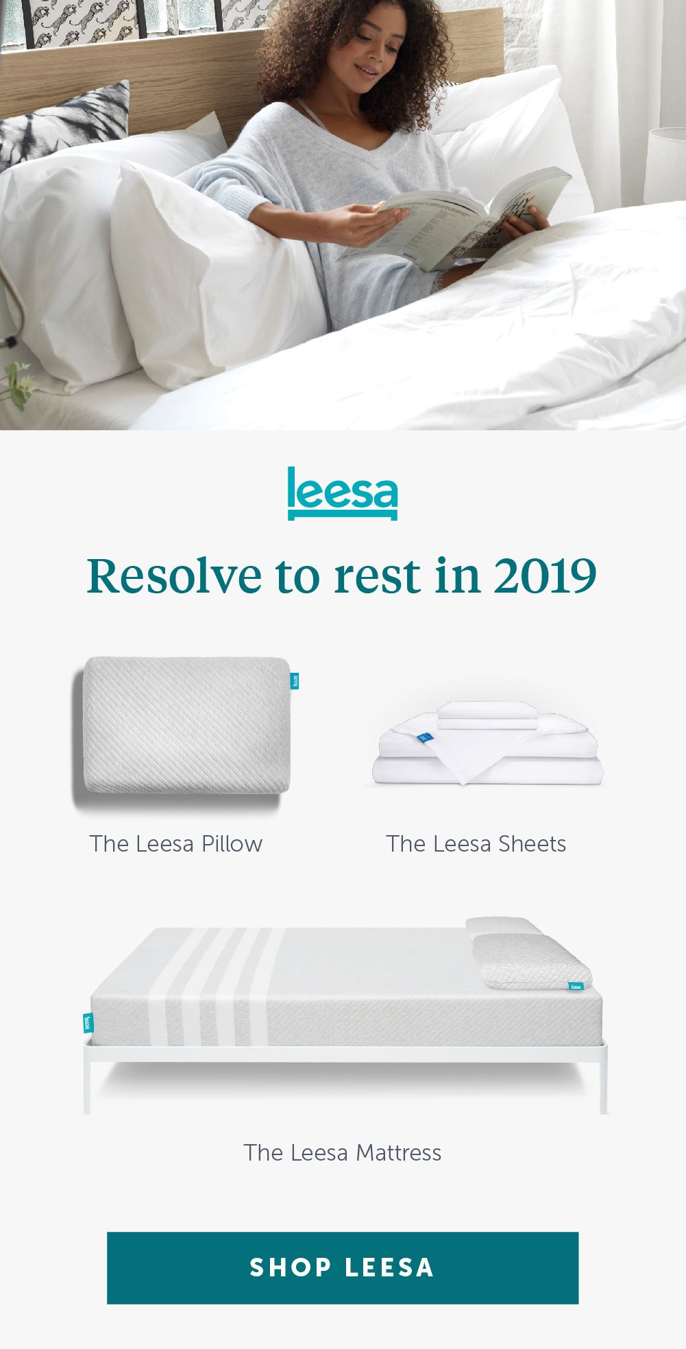Memory Foam Mattress Cooling Supportive Comfortable Leesa