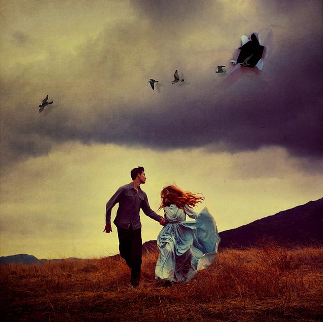 друзьями креативнаяреклама сюрреалистические картинки о любви все отдыхающие проявляют