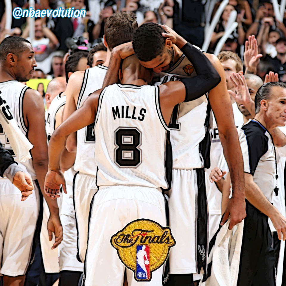 San Antonio Spurs win the 2014 #NBA championship! #MiamiHeat #SanAntonioSpurs #NBAFinals #Playoffs #NBA #Rematch #LeBronJames #TimDuncan #TonyParker #ThreeKings #TriAmigos #ManuGinobili #DwyaneWade