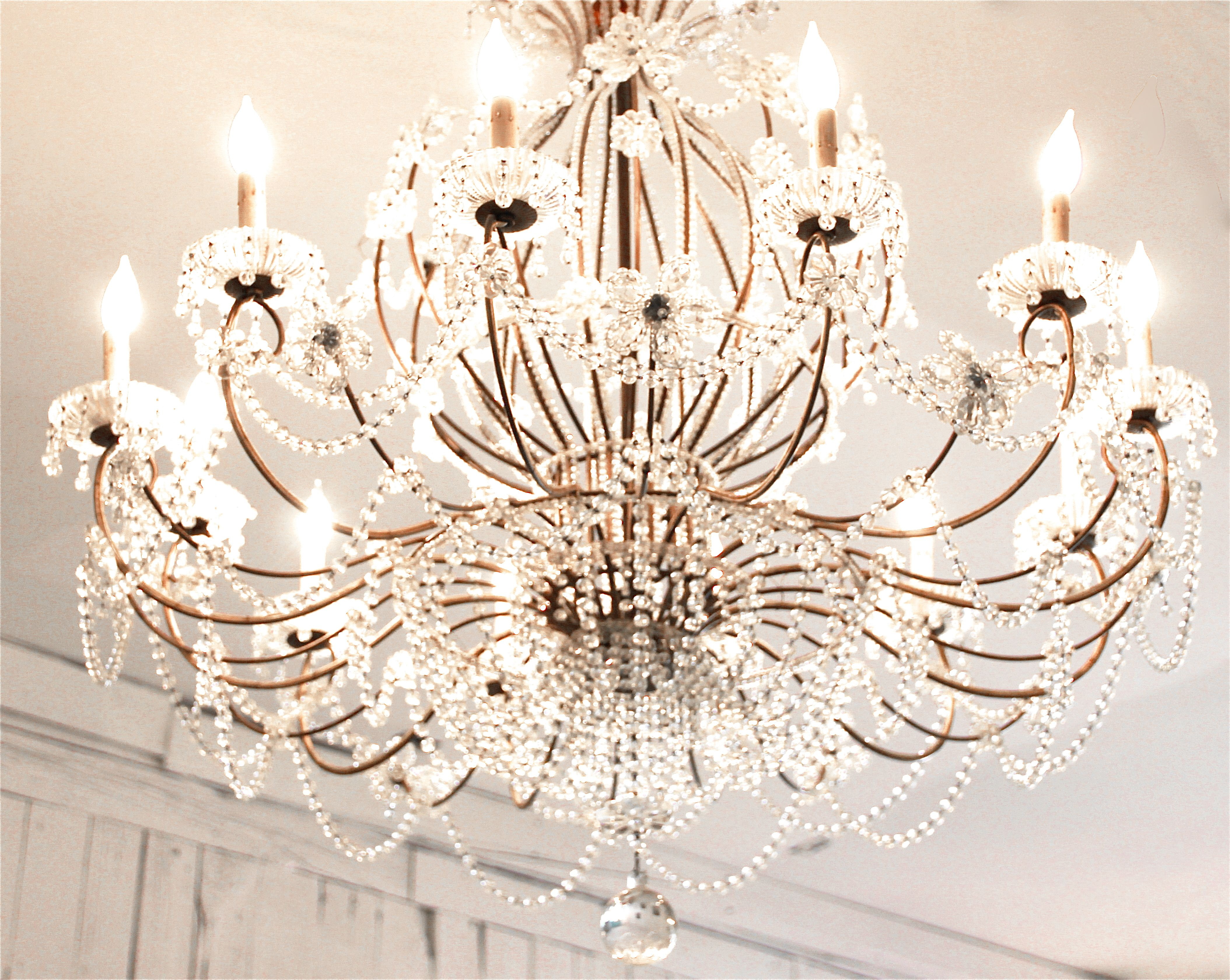Local shop chandelier  Anita Rivera