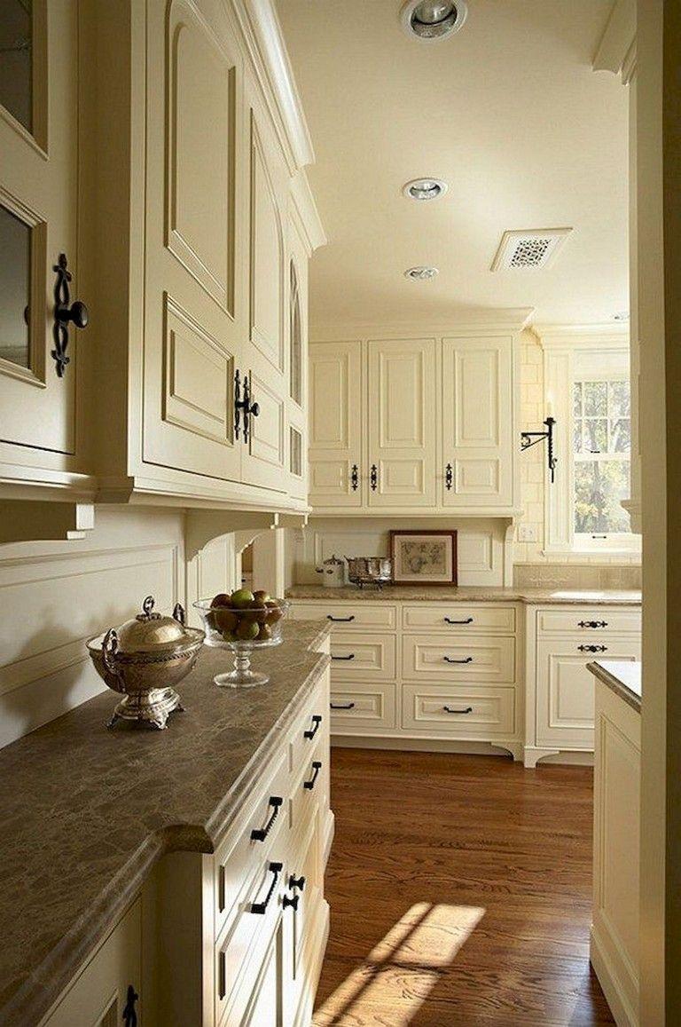 85 inspiring farmhouse kitchen cabinet makeover ideas farmhousekitchens on farmhouse kitchen wall colors id=99759