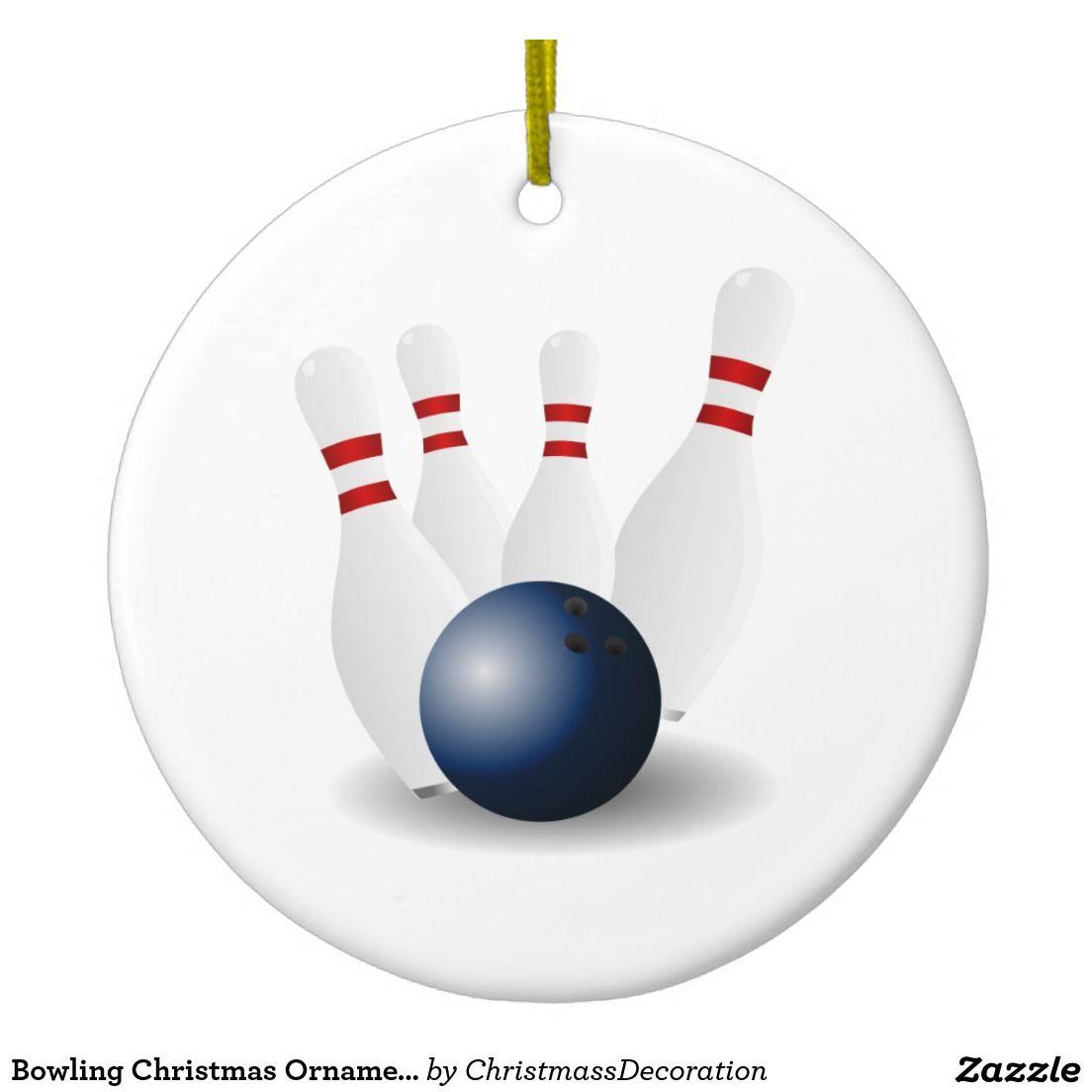 Bowling Christmas Ornament | Christmas | Pinterest | Bowling ...