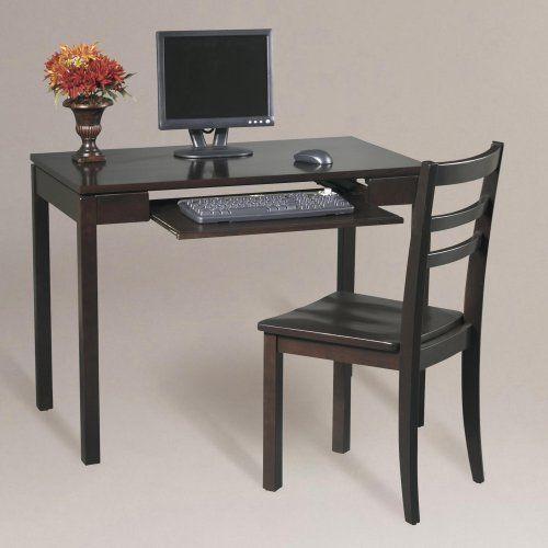 Dillon 2 Piece Desk Chair Set Espresso World Market By Cost