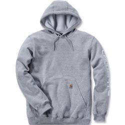 Sweatshirts        Sweatshirts,Products  Carhartt Midweight Sleeve Logo Hoodie Grau Xs CarharttCarha...