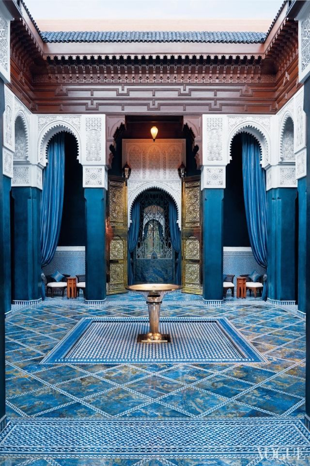 moroccan courtyards home moroccan interiors moroccan decor rh pinterest com