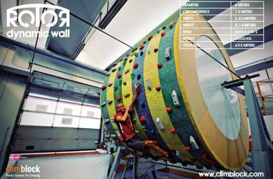 auto roll climbing wall perpetual rock climbing climblock rotor wall crazy pinterest climbing rocks and climbing wall