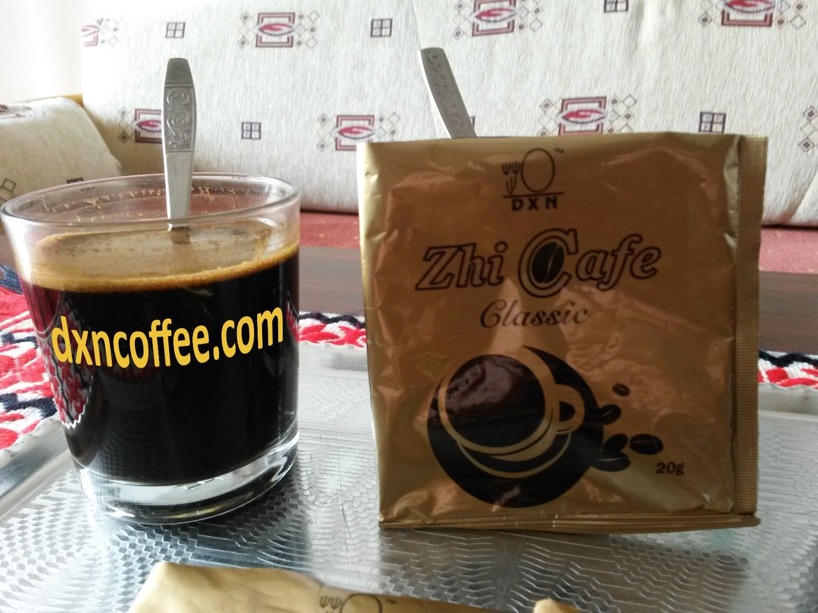 DXN MLM company's Zhi Coffee Classic - Turkish style healty coffee