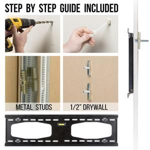 200lbs Drywall Anchors For No Stud Metal Steel Stud Drywall Gypsum Condomounts Tv Wall Toggle Bolts Wall Mounted Tv