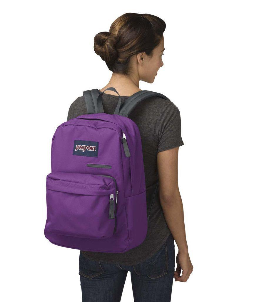 Jansport digibreak backpack vivid purple backpacks