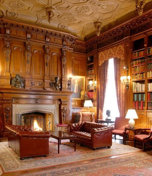 "Old Study Room Design: ""Drinks Are Being Served In The Drawing Room, M'lord. I've"