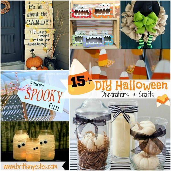 15+ DIY Halloween Decorations  Crafts DIY  Crafts that I love