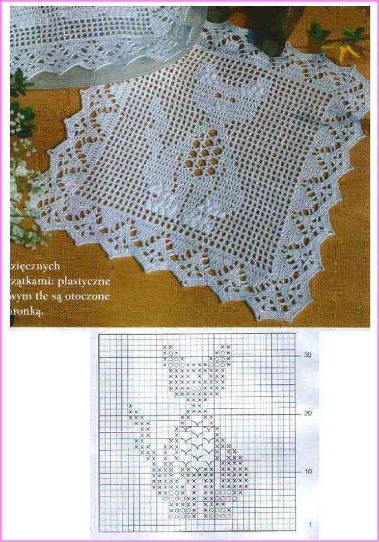 napperon crochet travaux manuels3